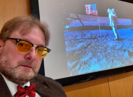 Tolles Seminar zur Mondlandung.