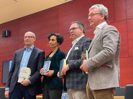 Literarisches Quartett im Bayerischen Landtag.