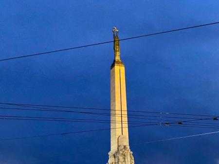 Das Freiheitsdenkmal in Riga
