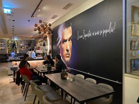 Themenrestaurant Falco in Wien.