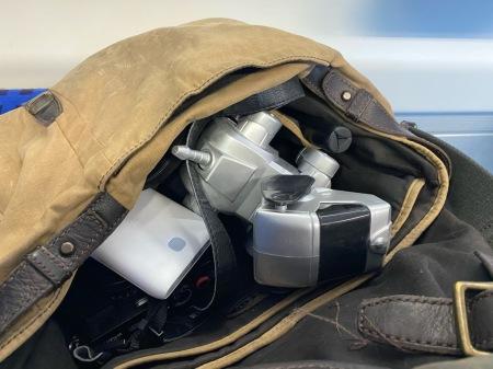 Ab in die Fototasche und auf zum Bloggerwalk mit Cybo