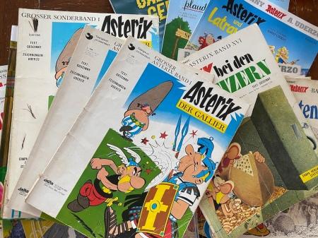 Meine Asterix aus den vergangenen Jahren.