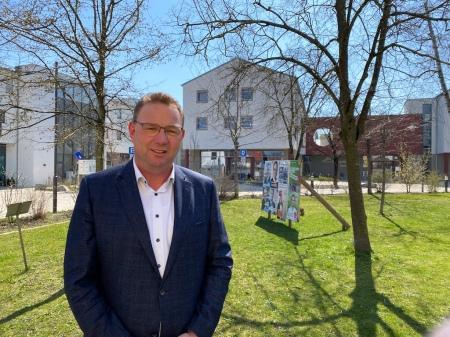 Bürgermeister Hans Seidl von Maisach zur Situation in der Gemeinde Maisach.