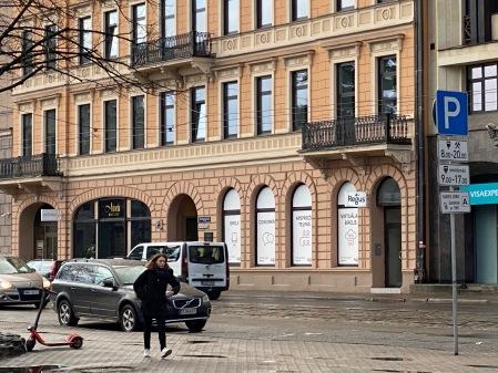 Die Musikalienhandlung von Heinz Erhardts Vater in Riga.
