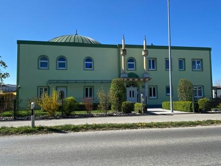 Die Moschee in FFB ist im Moment geschlossen.